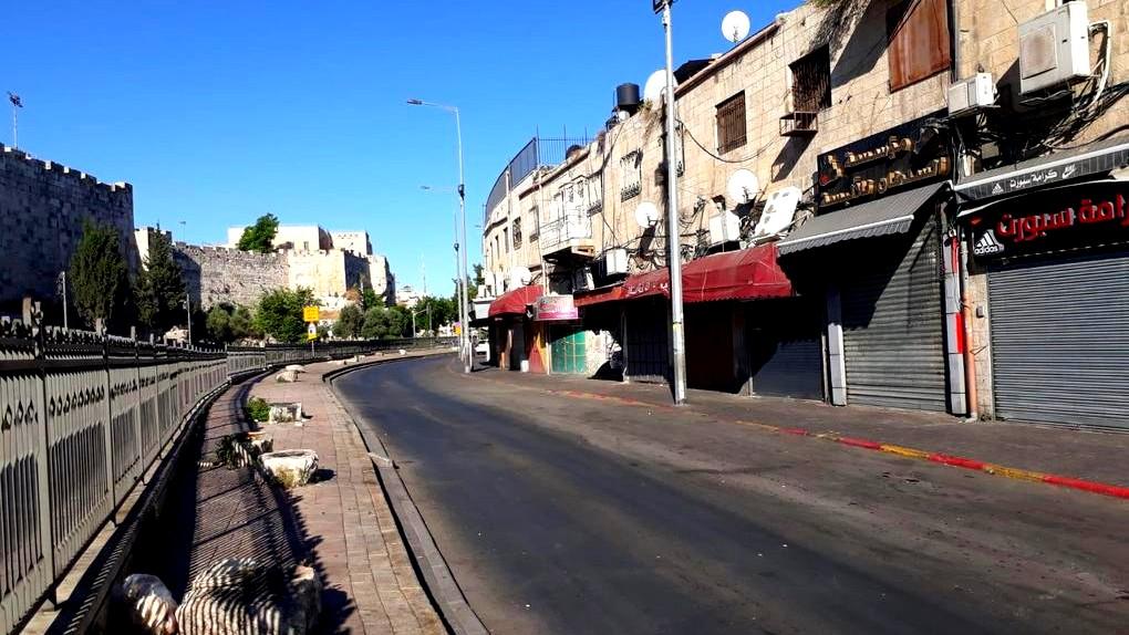 القدس: التزام بالاضراب بالأحياء العربية