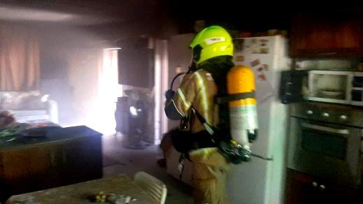 اندلاع حريق داخل منزل في مدينة باقة الغربية