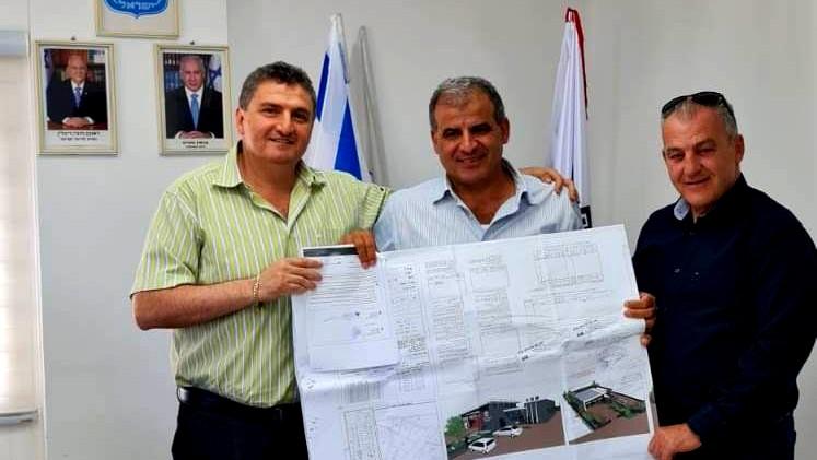 وضع اللمسات الأخيرة على مشروع بناء محطة اطفاء بعرابة