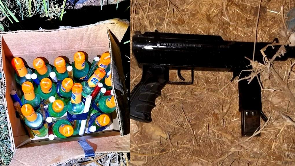 ضبط معدات قتالية في طرعان والناصرة