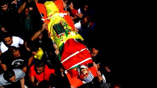تشييع جثمان الشهيد أحمد الفهد من الأمعري