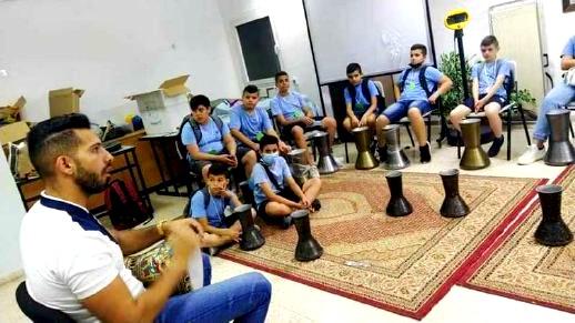 استقبال طلاب طبقة السوادس في مدرسة الرامة الشاملة