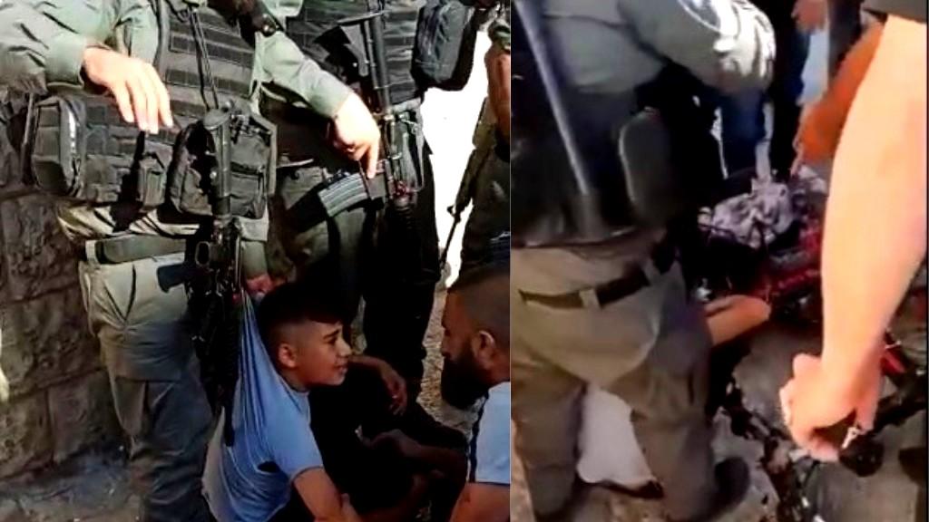 فيديو| مقدسيون: الشرطة دهست طفلا