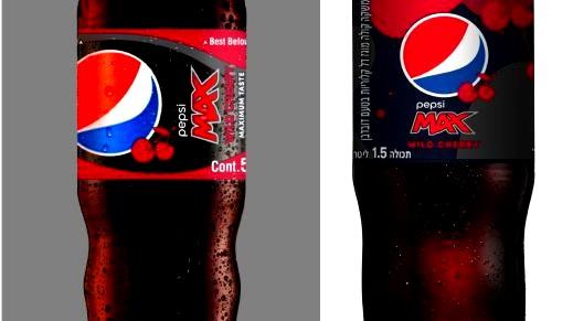 لأول مرّة:Pepsi Max Wild Cherry