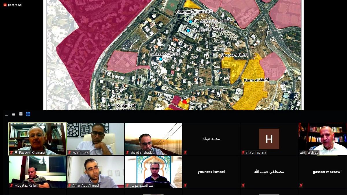 رابطة المهندسين والمعماريين العرب تعقد محاضرة