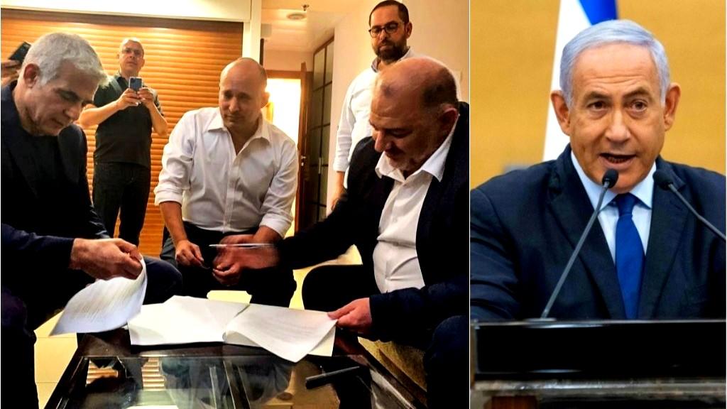 نتنياهو وحلفاؤه: مظاهرات ضد حكومة التغيير