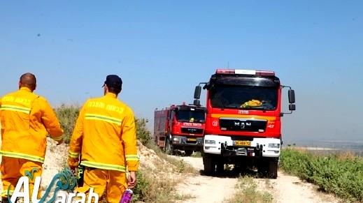 الشمال: اندلاع حريق قرب فندق في حتسور