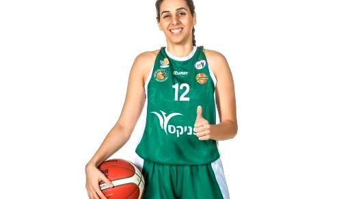 تجديد عقد لاعبة كرة السلة المجربة شهد عبود مع مكابي حيفا