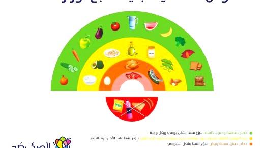 القوس الغذائي الجديد- التغذية الشرق أوسطية السليمة