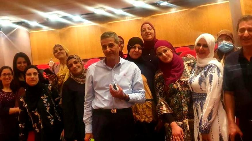 يوم دراسي بالمعهد الاكاديمي العربي