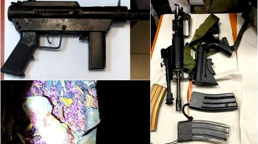 اعتقال زوجين من جسر الزرقاء بشبهة حيازة أسلحة