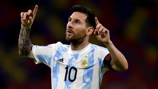 إعتماد بصفوف منتخب الأرجنتين على ميسي