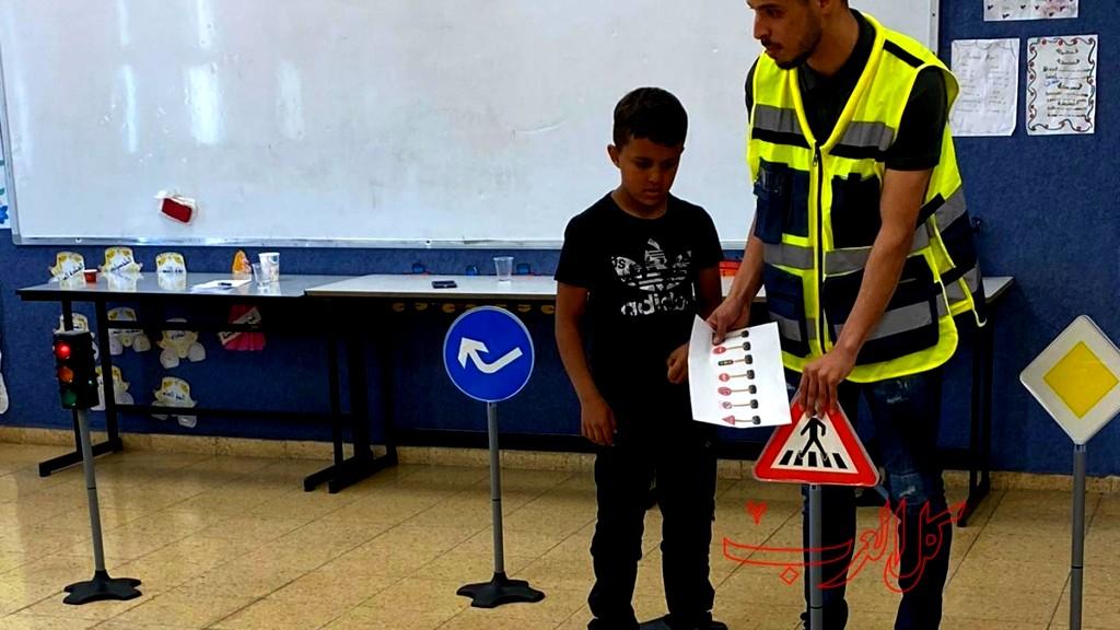 حورة: الأمان على الطرق بمدرسة المستقبل
