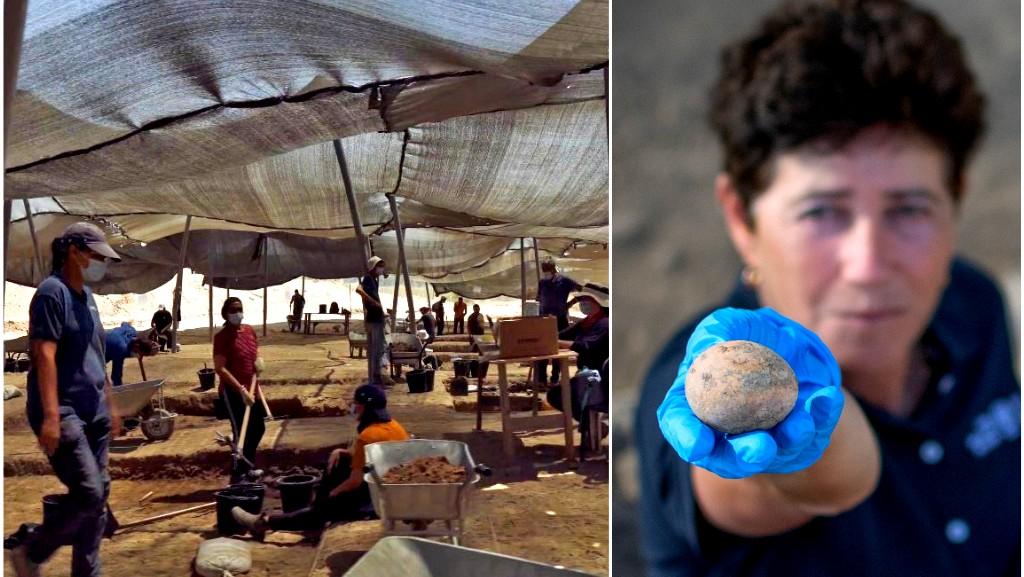 العثور على بيضة يعود تاريخها إلى العصر الاسلامي