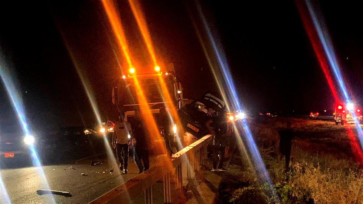 مصرع شابة واصابة اخرين اثر حادث طرق مروع على شارع 6