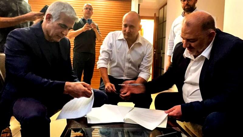 الحكومة الإسرائيلية الجديدة تؤدي اليمين الدستورية