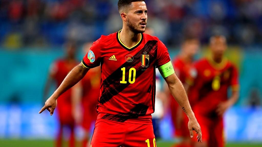 هازارد يهدي فوز بلجيكا إلى إريكسن