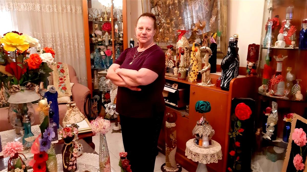 عيلبون   الفنانة كميليا خليل زريق تحول بيتها لمتحف
