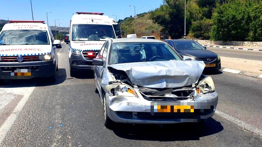 وادي عارة: 3 إصابات بحادث طرق