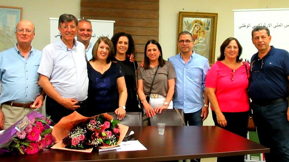 تكريم د.رياض كامل في نادي حيفا الثقافي