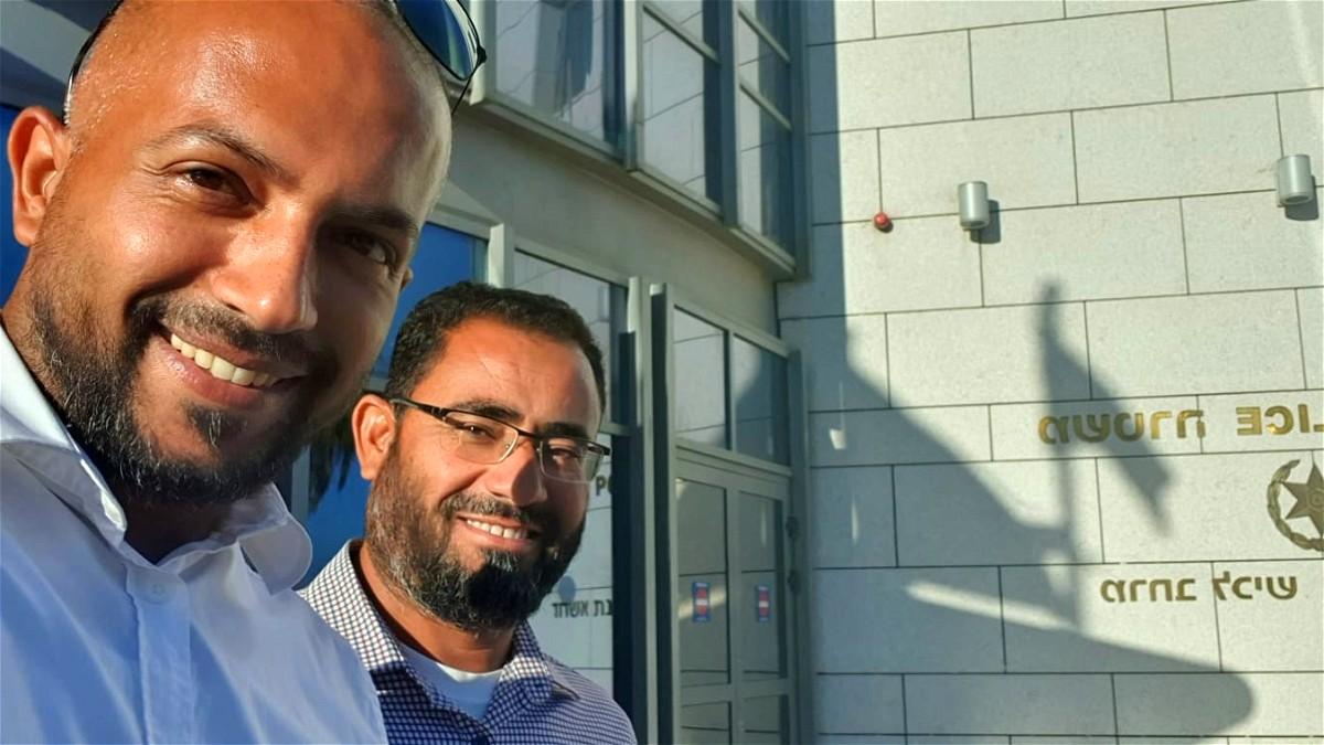 اطلاق سراح الشيخ يوسف أبو جامع من رهط بعد تحقيقات