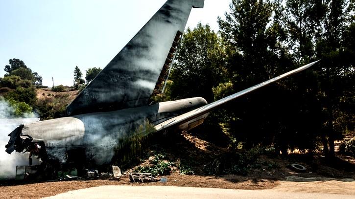 روسيا  قتلى وجرحى بتحطم طائرة