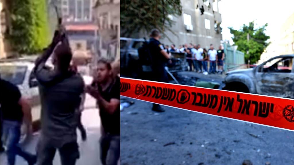 توثيق: شرطي يطلق النار بين المواطنين في دير الأسد