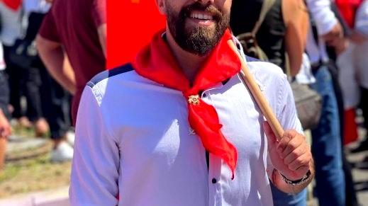 انتخاب حمادة حج داهود للجنة المركزية للشبيبة الشيوعية