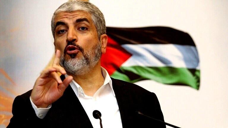 خالد مشعل: المعركة مفتوحة طالما أن هناك احتلالا