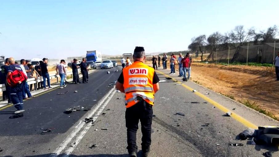 النقب| 6 إصابات متفاوتة إثر حادث طرق