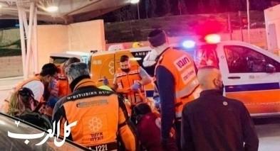اصابة رجل بجراح خطرة اثر اطلاق رصاص في مخيم شعفاط القدس
