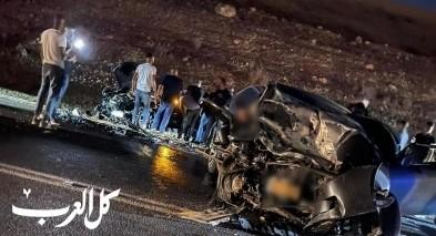 قتيل و3 اصابات متفاوتة جراء حادث طرق دام على شارع 80 بإتجاه عرعرة النقب