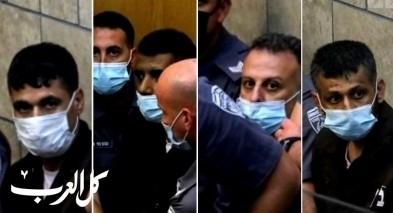 محكمة الصلح في الناصرة تنظر في تمديد اعتقال الأسرى الأربعة