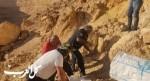 العثور على هيكل عظمي في واد يمين قرب ديمونا بالنقب