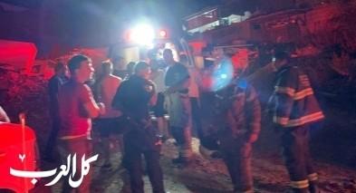 القدس: 9 إصابات متفاوتة جرّاء اندلاع حريق داخل عمارة سكنيّة في حي راس العمود
