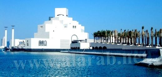 قطر الواقعة بشبه الجزيرة