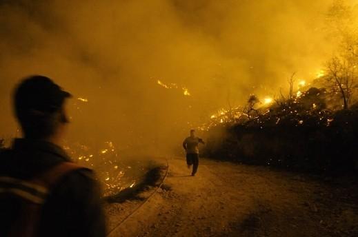 ارتفاع عدد ضحايا كارثة الكرمل الى 41 قتيلا وإخلاء منازل في طيرة الكرمل