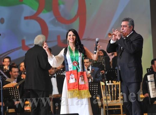 ديانا حداد تحتفل باليوم الوطني للإمارات في حفل ساهر لتلهب الجماهير بأغنية يا عيبو