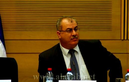النائب محمد بركة: الحكومة وضعت الكنيست على الهامش السياسي