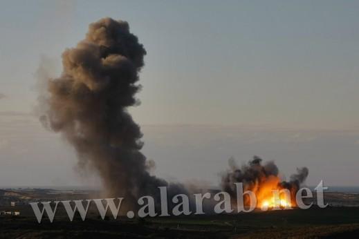5 اصابات بانفجار نفق برفح والطائرات الإسرائيلية تشن غاراتها على خانيونس وغزة