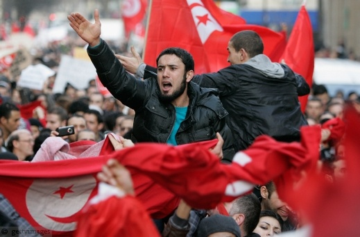 بيان الحركة الاسلامية:مبارك لأهلنا في تونس ولكن حذاري