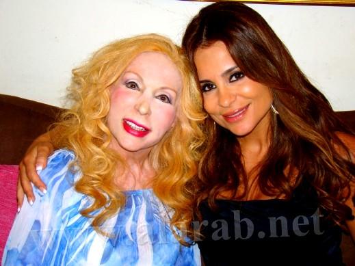 الفنانة اللبنانية كارول سماحة تعتذر للجمهور اللبناني لتحدثها باللهجة المصرية