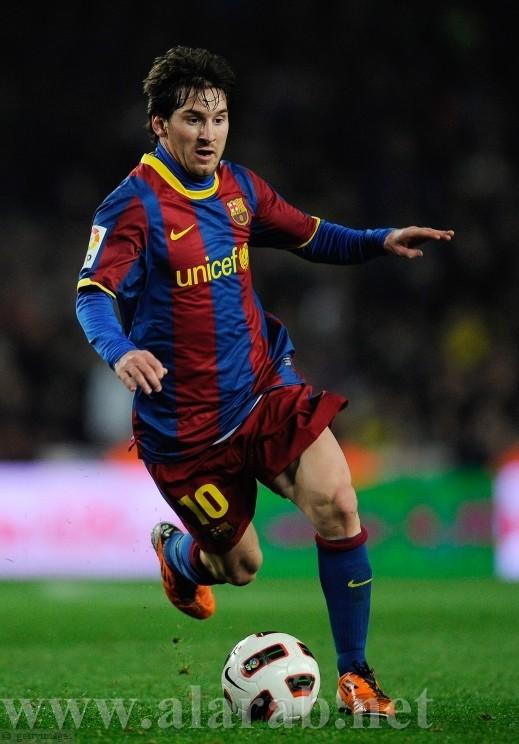 ميسي يحصد جائزة افضل لاعب في القارة الاوروبية لهذا العام