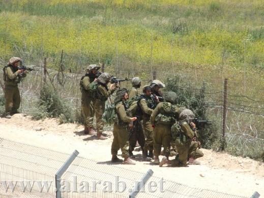 المئات يتوافدون الى تل الصيحات والجيش يهدد بإطلاق الرصاص على الحدود