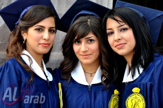 مدرسة راهبات الفرنسيسكان في مدينة الناصرة تحتفل بتخريج الفوج ال63 من طلابها