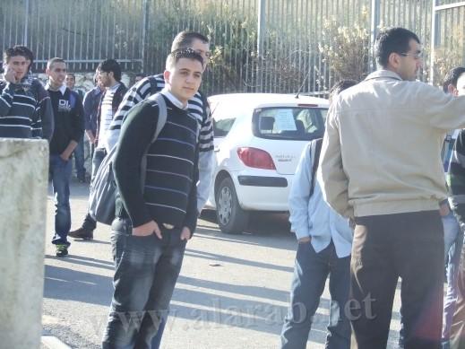 مجلس طلاب سالم الثانوية في طلعة عارة يعلن الإضراب احتجاجا على قرارات المدير