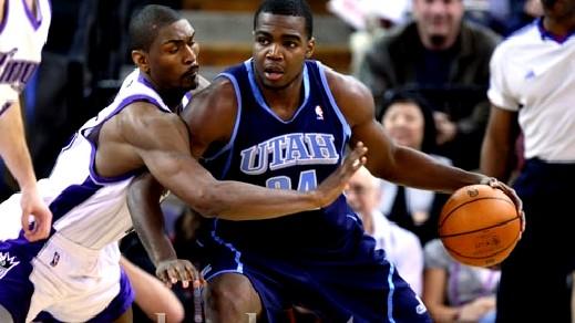 ميلساب يقود جاز للفوز على ناجتس بدوري السلة الامريكي