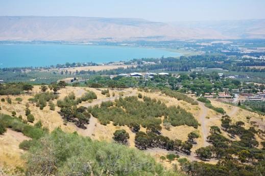 إرتفاع منسوب المياه في بحيرة طبريا بـ50 سنتمترا وينقصها بعد 4.31 مترا