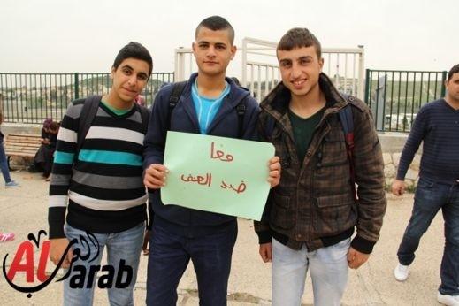 بالفيديو:دخول الشرطة الى مدرسة في أبو غوش وجر المعلمة رلى ملحم والإعتداء عليها