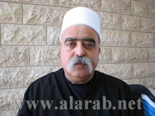 الشيخ موفق طريف يحذر بيرس:يجب إيقاف محاكمة مشايخ الدروز والا فالعلاقات مع الدولة ستتدهور